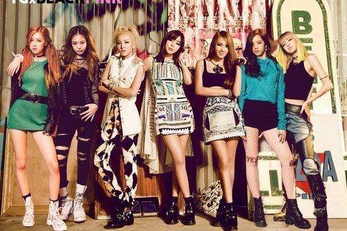 girlband k-pop